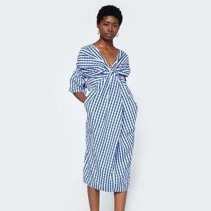 Need Supply Farrow Daytona Gingham Check Blue Dress